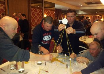 P66 Contractors Away Day 2012: Building Scaffolding with Marshmallows